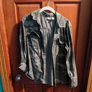 Juniors army jacket